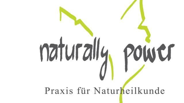 Logo naturally-power, Praxis für Naturheilkunde